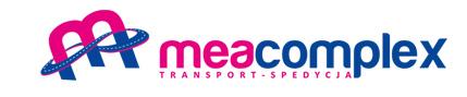 Logo Meacomplex - Transport i spedycja